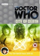 DR WHO 105 (1979) - CITY OF DEATH - TV Doctor Tom Baker + Romana - R2 DVD not US