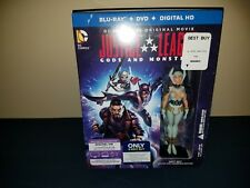 Best Buy Exclusive Justice League: Gods and Monsters Blu-ray and Figure Boxset
