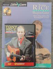 Tony Rice Teaches Bluegrass Guitar Master Class Lessons Homespun Book CD DVD