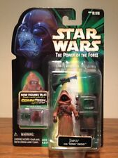 STAR WARS POWER OF THE FORCE JAWA WITH GONK DROID! NO HOLES ERROR VARIANT! NM!