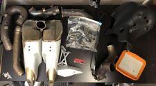 Ducati Panigale 1199/S 2012-2014 Stock Slip-On Exhaust Muffler Bundle