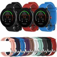 Für Polar Vantage M Multi Sport GPS Watch Silikon Armband Uhrenarmband Band 22mm