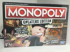 MONOPOLY ~CHEATERS EDITION~ HASBRO BOARD GAME BRAND NEW