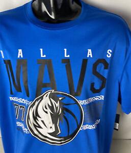 Dallas Mavericks Jersey Tshirt NEW Luka Doncic #77 Spellout Logo NBA Sz XL MAVS