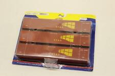 3 x Athearn 26536 STAX 53 Foot Jindo Shipping Containers HO Gauge Railway V23