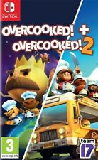 Overcooked! Special Edition + Overcooked! 2 EU English etc Nintendo Switch NEW