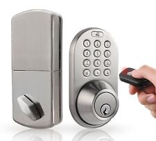 MiLocks Keyless Deadbolt Door Lock with Remote Control & Digital Keypad