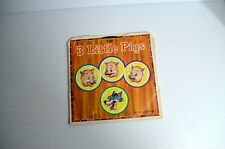 Tunes For Tots Vinyl 45 The Three Little Pigs Children's Music