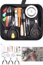 32Pcs Jewelry Making Kit Tools Repair Pliers Storage Pouch for Jewelry Crafting