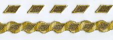 Classic TOS Star Trek Embroidered Braid, Lieutenant Commander - Season 1