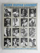 Blues Guitar Legends Guitar Tab - Creative Concepts PB RARE Muddy Waters BB King