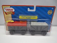 GIGGLING TROUBLESOME TRUCKS THOMAS & FRIENDS WOODEN RAILWAY CARS 2011 TOMY  NIB