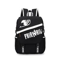 Anime Series Fairy Tail Large Size Multi-Functional Leisure Canvas Backpack