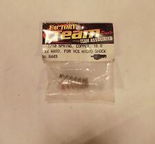 Team Associated 8449 1/10 Spring Copper 16.0 XX Hard VCS Micro Shock