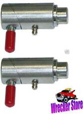 """Qty. 2 - 1"""" SPRING LOADED CAM LOCK PLUNGER PIN TOW TRUCK, WRECKER, FARM, etc."""