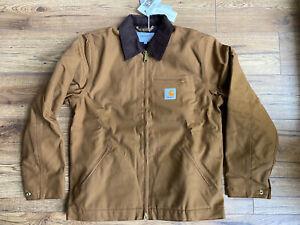Brand New Carhartt Detroit Hamilton Jacket Brown Small