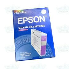 Genuine Epson S020126 Magenta Ink Cartridge Stylus Color 3000