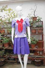 Mirai Nikki Yuno Gasai Cosplay Costume Halloween Uniform Custom made