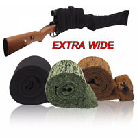 Hunting Gun Sock Extra Wide Silicone Treated Rifle Shotgun Large Scoped Cover