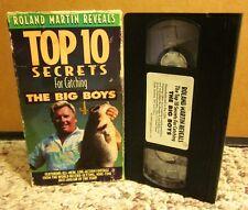 ROLAND MARTIN Bass Catching Secrets fishing tips Top 10 Secrets VHS snook 1994
