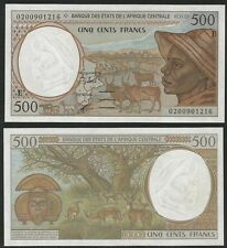 CENTRAL AFRICAN STATES - CAMERUN (E) 500 Franchi 1998 P. 201Ee  UNC