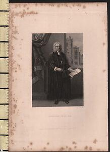 1834 Datierter Antik Aufdruck ~ Jonathan Swift