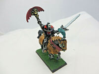 Warhammer Vampire Counts Lord mounted Carstein painted OOP metal AOS