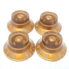True Custom Shop® Embossed Gold Top Hat Knobs Set for Gibson Les Paul SG