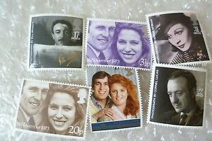 Stamp- GB stamp / a collection of GB Stamps - lot of 6 (Unused)