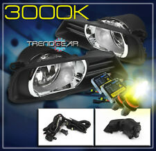 2007 2008 2009 Toyota Camry Bumper Driving Jdm Fog Light Lamp W/Cover+Yellow Hid