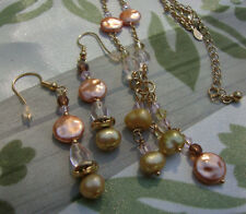 Set Designer Necklace & Earrings Premier Designs Jewelry New Old Stock