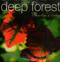 ☆ CD SINGLE DEEP FOREST Marta's song PROMO MEXICO 2-TRACK CARD SLEEVE ☆