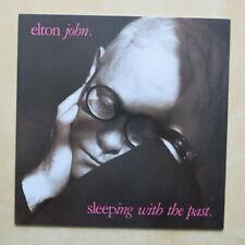 ELTON JOHN Sleeping With The Past UK vinyl LP with inner 1989 Near Mint