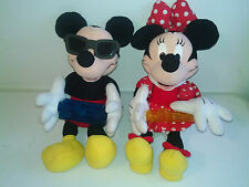 Disney Mickey & Minnie Mouse Plush Tuney Boppe Sings & Plays musical instruments