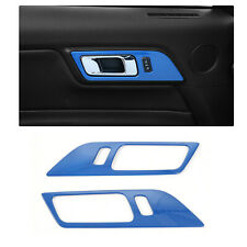 Interior Door Handle Frame Trim Cover Decor For Ford Mustang 2015-19 Accessories