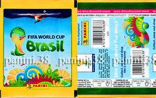 "RARE !! PANINI LIDL ""FIFA WORLD CUP BRASIL 2014"" bustina, packet, tüten GREEN"