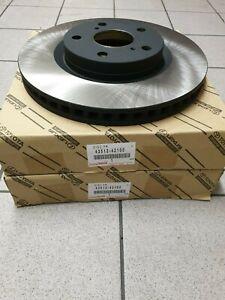 Genuine Toyota/Lexus Front Brake Discs 43512-42100 Original New Pair