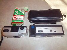 2 Vintage Camera's 35mm Film Included - Crank to Turn film and Battery - Case