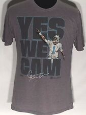 Cam Newton Carolina Panthers NFL Football Team Player Yes We Cam Large L T-shirt