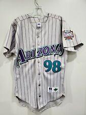 RARE VTG Russell Athletic Diamond Co 1998 Arizona Diamondbacks Jersey Mens 40 M