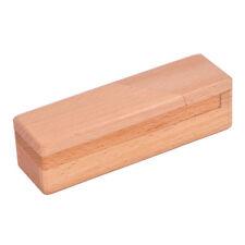 Wooden Brain Teaser Secret Opening Puzzle Box Magic Mysterious Box Gift Box G7U8