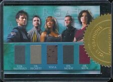 Stargate Atlantis 3&4 Quintuple Costume Case Card 149/444