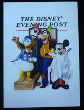 OUT OF PRINT Disneyland The Disney Evening Post Mickey Donald Goofy