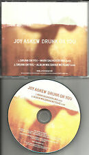 JOY ASKEW Drunk on you w/ RARE MIX RARE TST PRESS PROMO DJ CD Single 2011