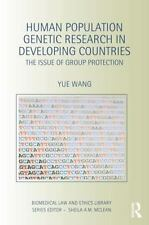 Human Population Genetic Research in Developing Countries : The Issue of...