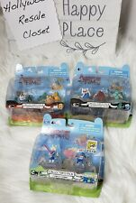 Adventure Time Action Figures Lot Finn & Fiona Comicon 2012