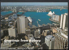 Australia Postcard - A Panoramic View To North Sydney  RR1032
