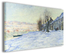Quadro moderno Claude Monet vol XVI stampa su tela canvas pittori famosi