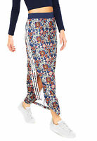 adidas Originals FARM Cirandeira Floral 3-Stripe Split Maxi Skirt XS S M L