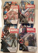 Marvel Universe Lot Of 4  Warpath , Falcon , Captain America , Dark Hawkeye NEW